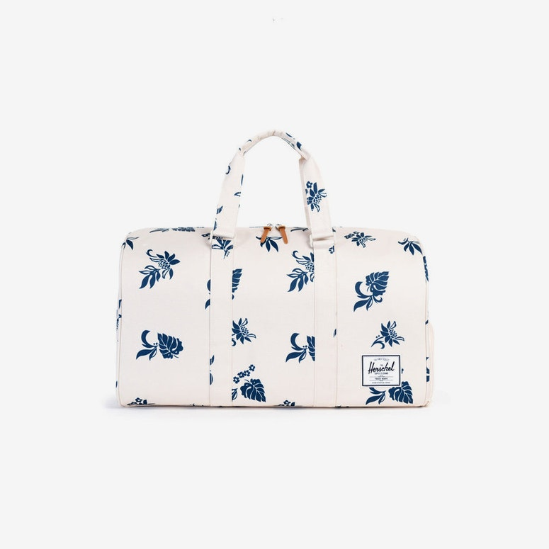 Novel Duffle Bag Floral/white