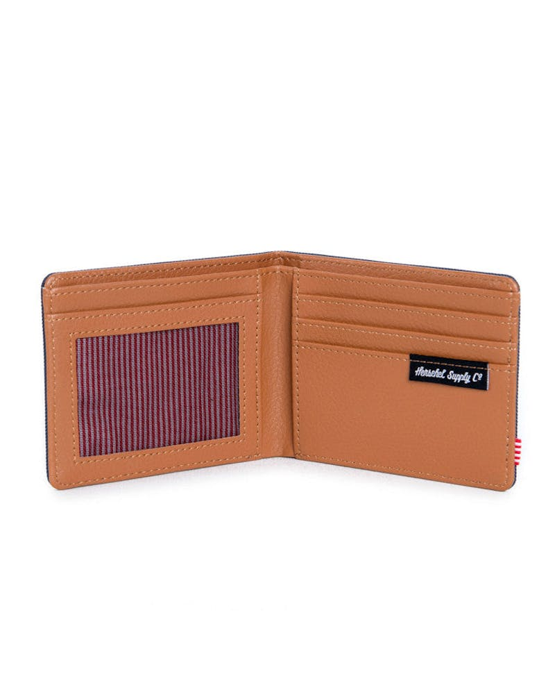 Hank Wallet Navy/tan
