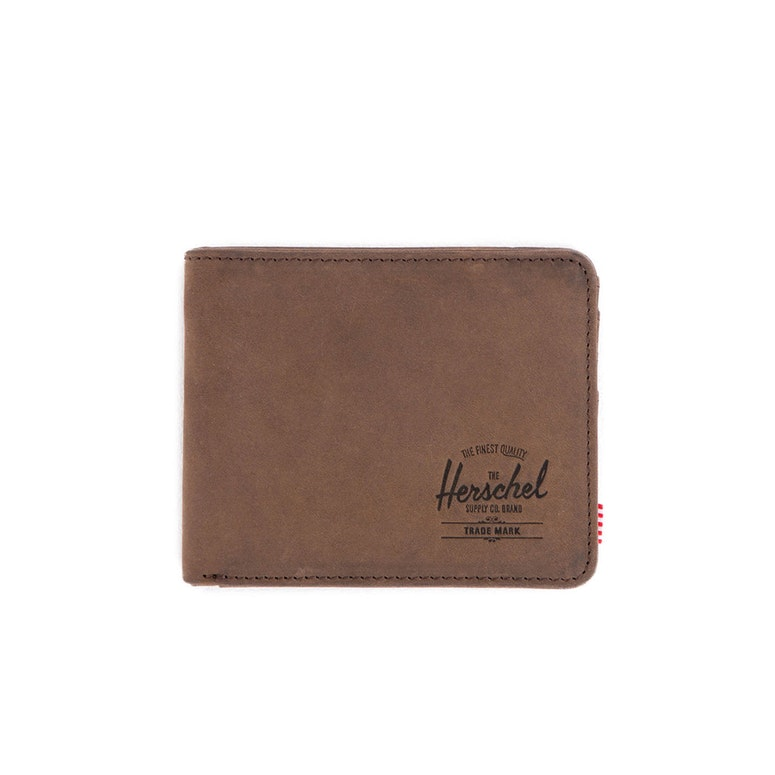 Hank + Coin Leather Wallet Nubuck