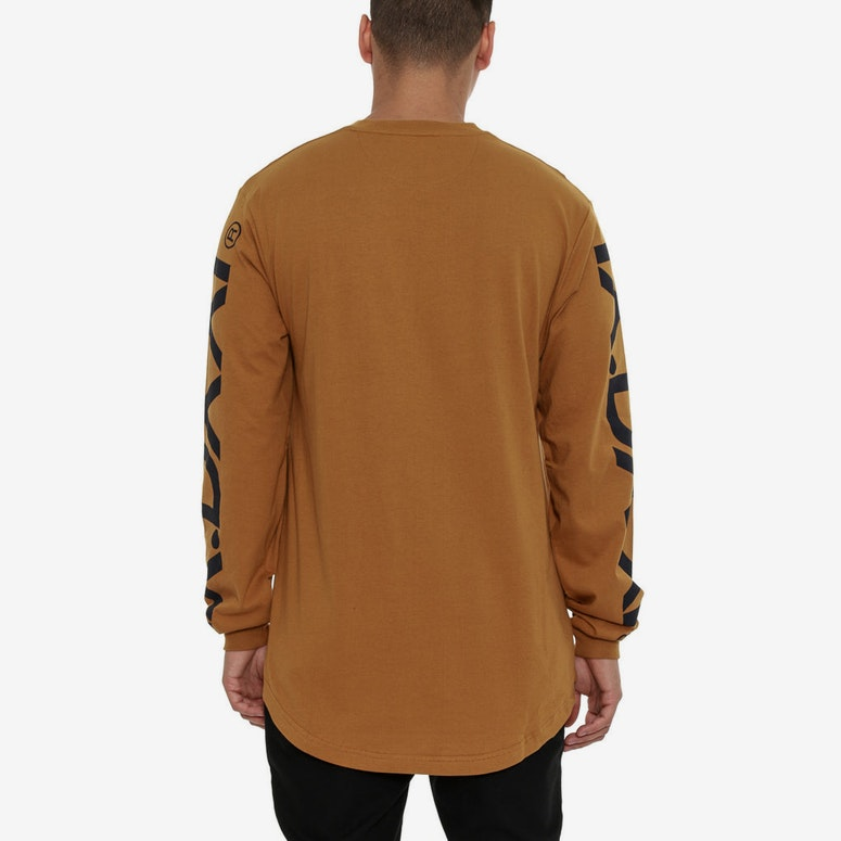 Ironside Scoop Long Sleeve Tee Gold