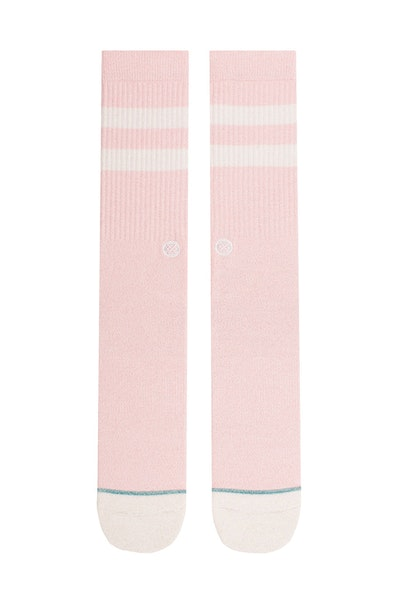 Stance Salty Classic Crew Sock Pink
