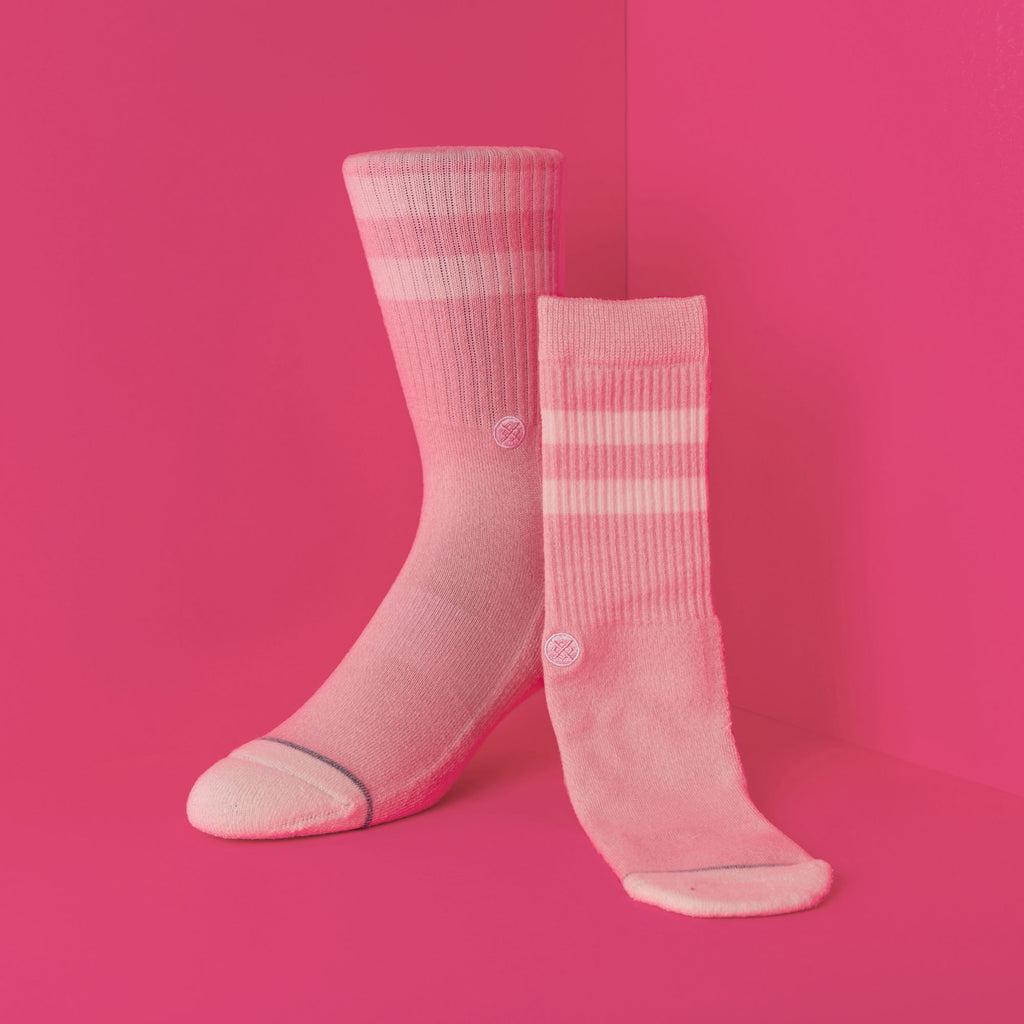 Pink. Stance Salty Socks