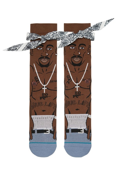 Stance Tupac Sock Brown
