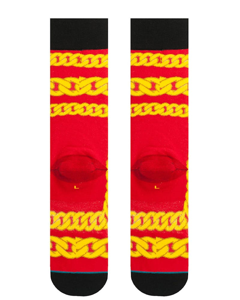 Stance Linx Anthem Sock Red