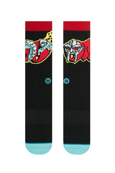 Stance Metal Face Doom Sock Black