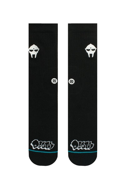Stance Doom Embroidery Sock Black