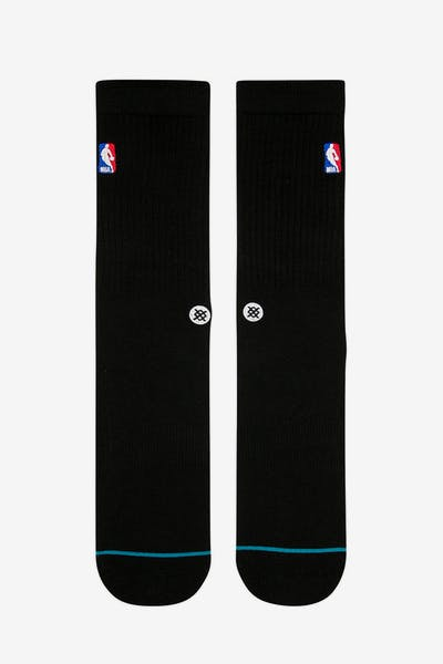 Stance NBA Logoman Crew Sock Black