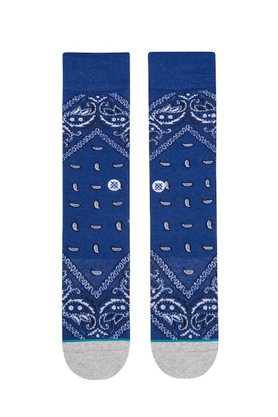 Stance Barrio 2 Sock Blue