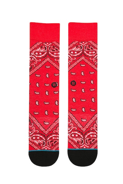 Stance Barrio 2 Sock Red