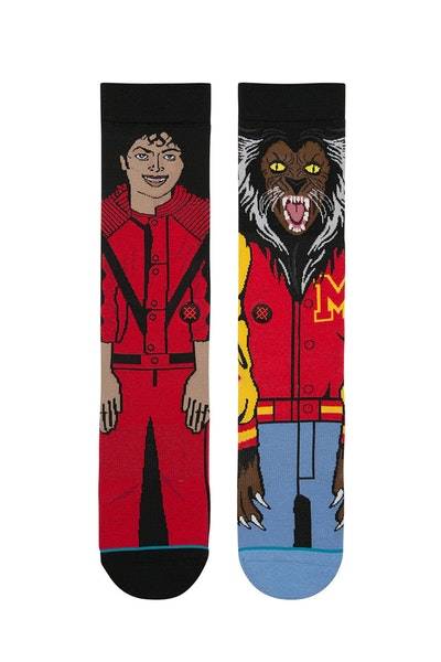 Stance Michael Jackson Sock Red