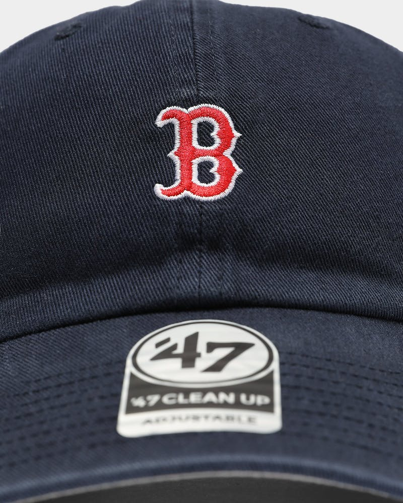 47 Brand Boston Red Sox Clean Up Strapback Navy