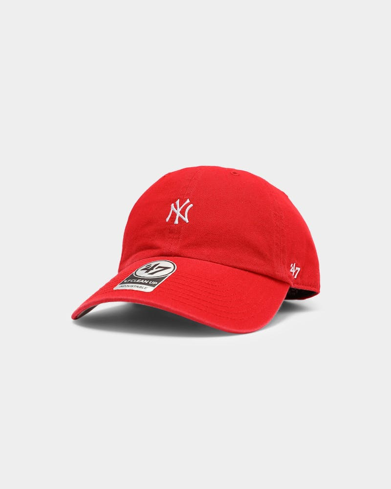 47 Brand New York Yankees Clean Up Strapback Red
