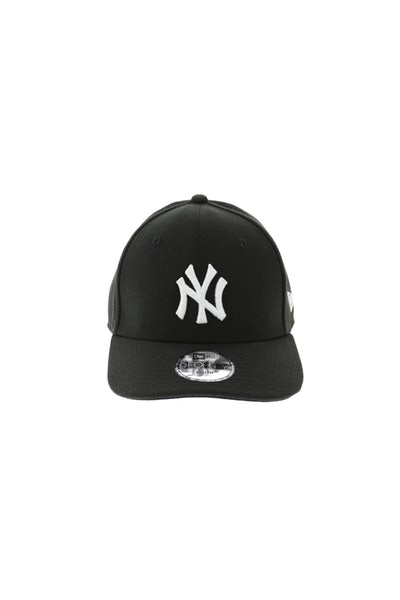 New Era Yankees Kids 940 Precurve Black/White