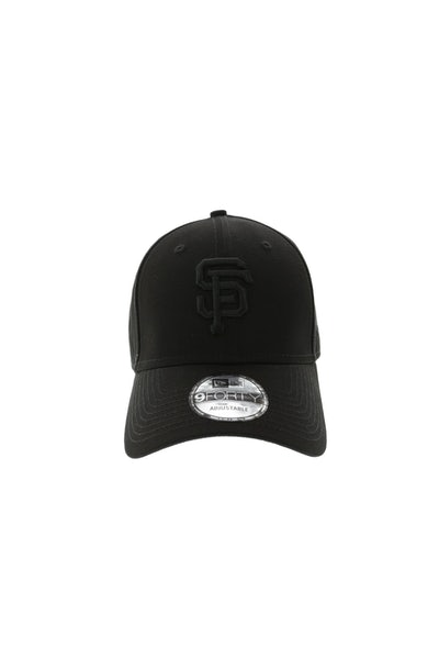 New Era San Fransico Giants 940 Strapback Black/Black