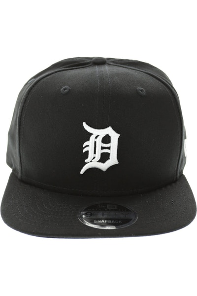 New Era Tigers Original Fit Snapback Black/white