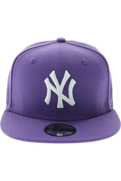 Youth Yankees Snapback Purple