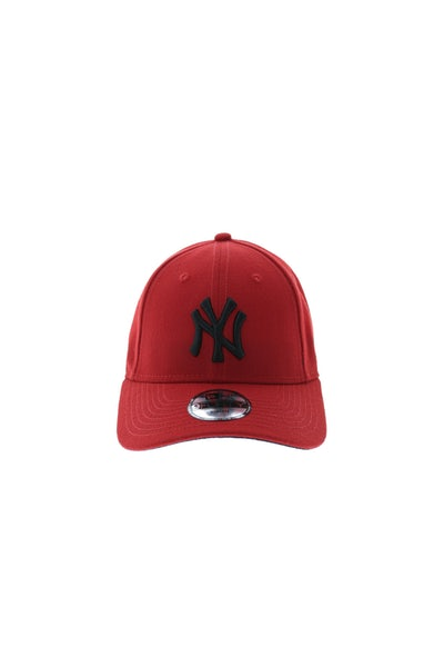 Youth Yankees 940 Velcro Back Scarlet/black