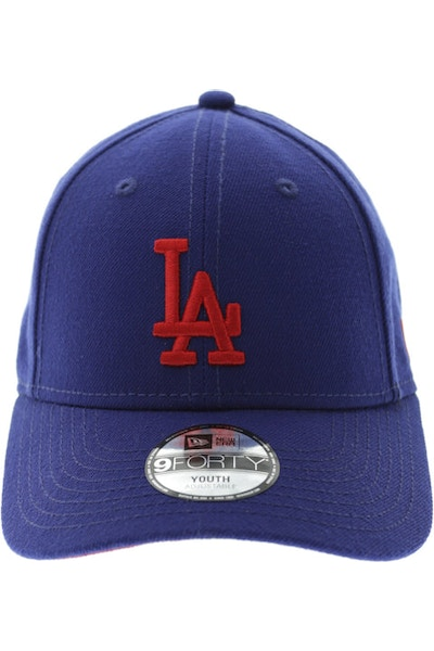 New Era Youth Yankees 940 Velcro Back Royal/red
