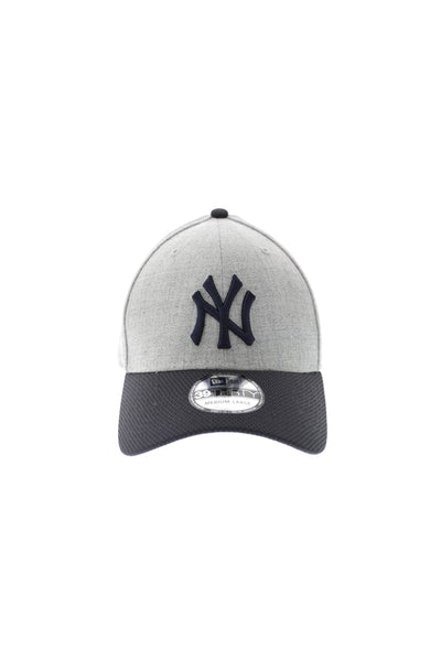 New Era NY Yankees Redux 3930 Heather Grey/navy