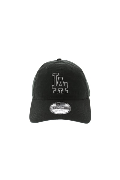 New Era Dodgers 920 Outline Strapback Black