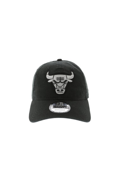 New Era Bulls 920 Outline Strapback Black