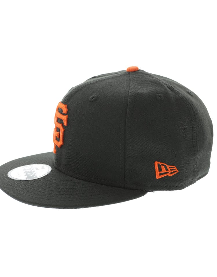 meet 96a13 ca789 New Era San Francisco Giants 9FIFTY Snapback Black Orange