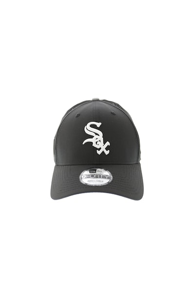 New Era White Sox Perf 940 Velcro Back Black/white