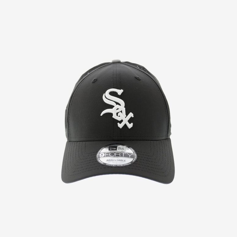 New Era White Sox Perf 9FORTY Velcro Back Black white – Culture Kings d2a91c57830