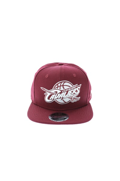 New Era Cavaliers League Original Fit Cardinal/white