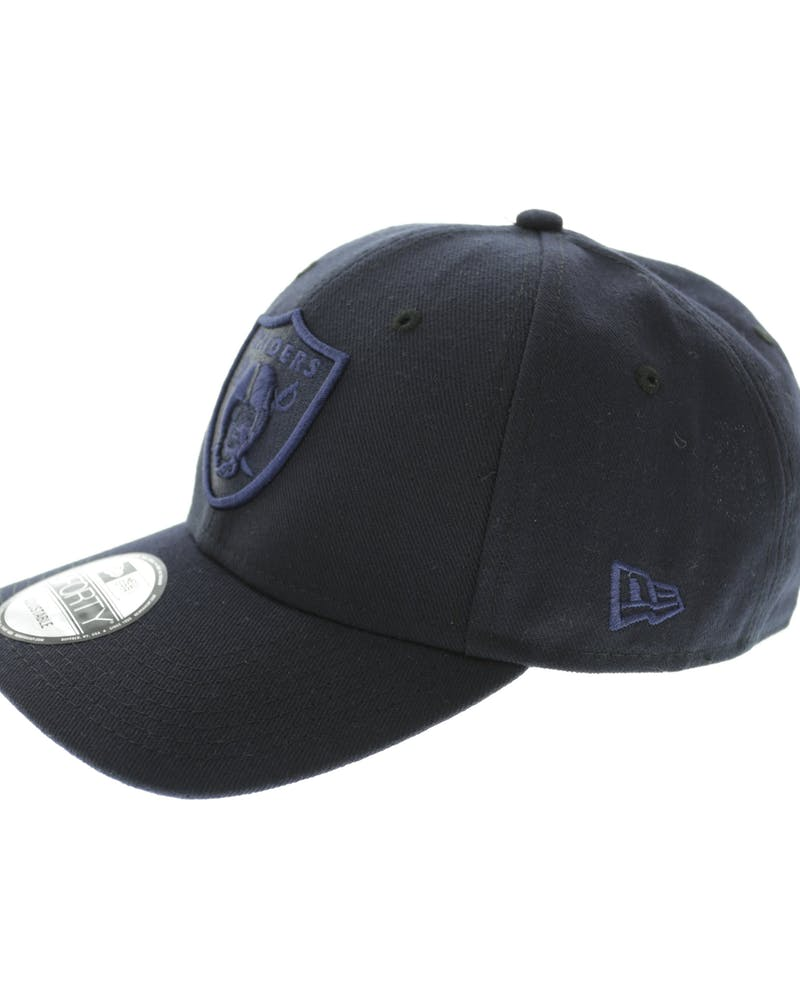 New Era Raiders 9FORTY Emblem Snapback Navy
