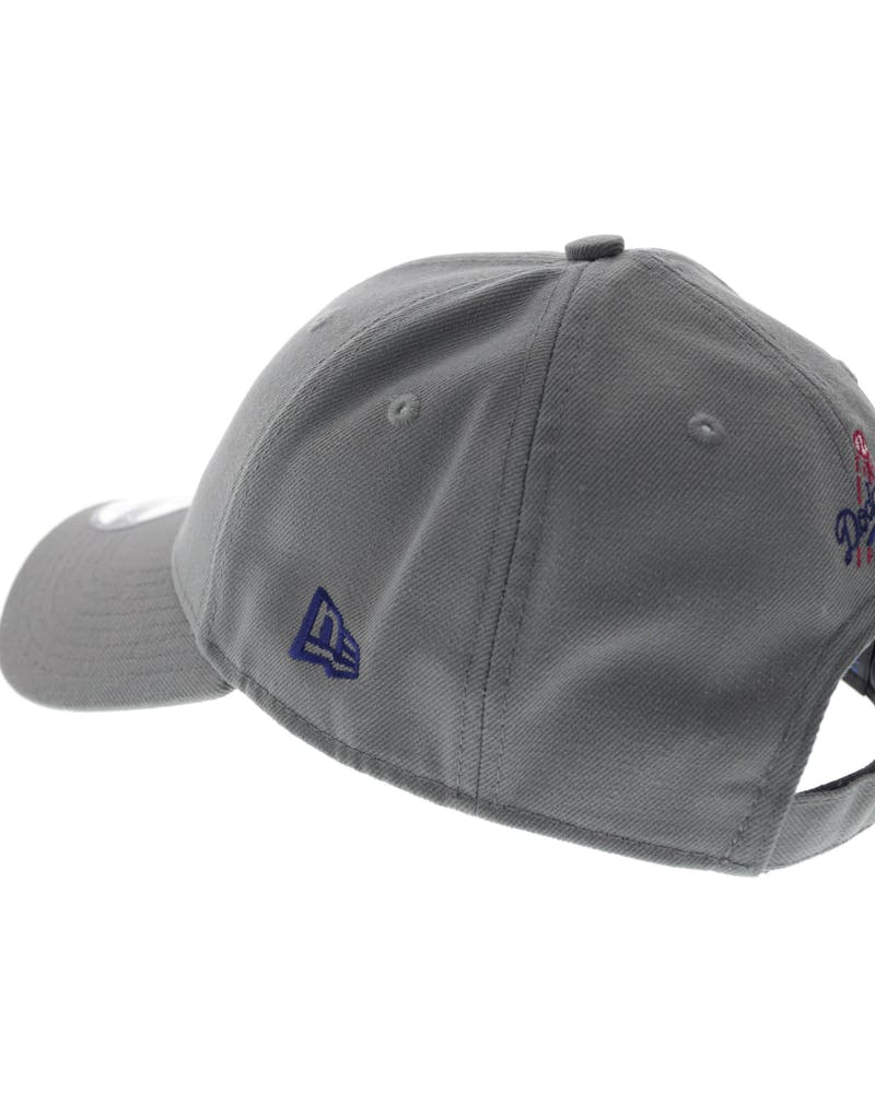 New Era Dodgers Storm Velcroback Grey