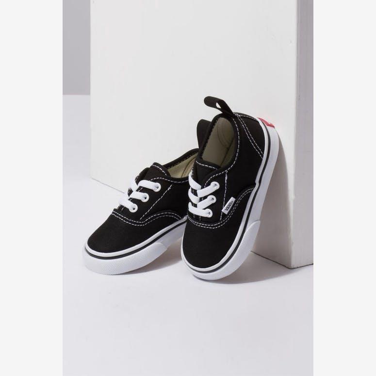 c4a54e18884 Vans Toddler Authentic (Elastic Lace) Black White – Culture Kings