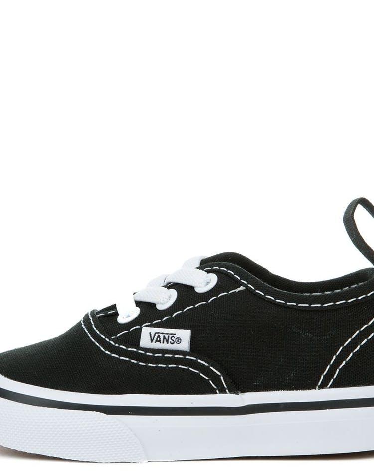 4ec5a887e4 Vans Toddler Authentic (Elastic Lace) Black White – Culture Kings