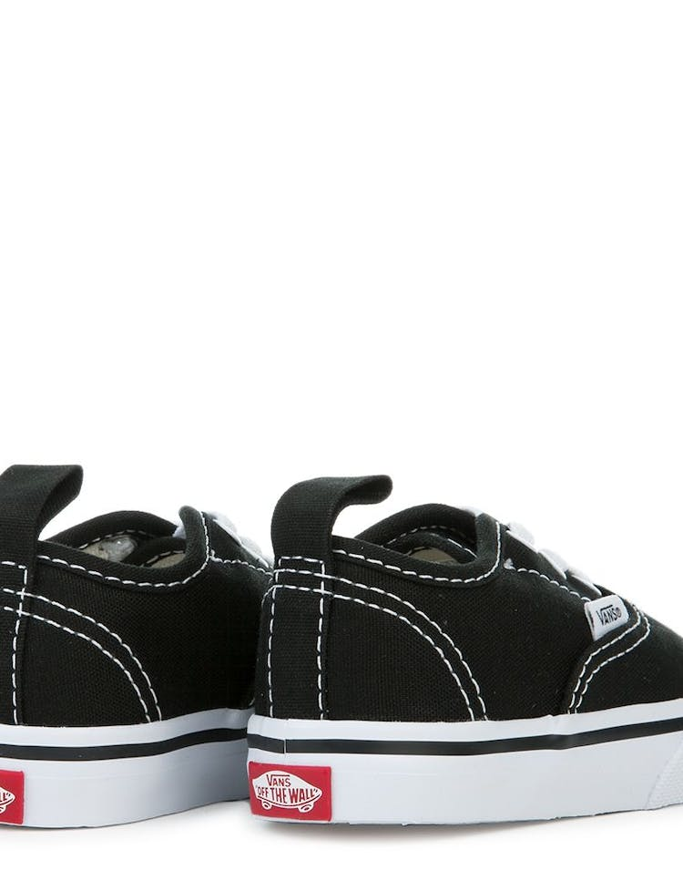 052f1bfcc Vans Toddler Authentic (Elastic Lace) Black/White – Culture Kings