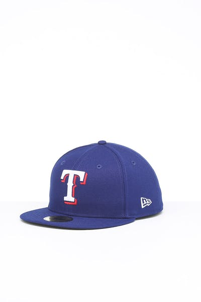 New Era Texas Rangers 59FIFTY Fitted Navy/OTC