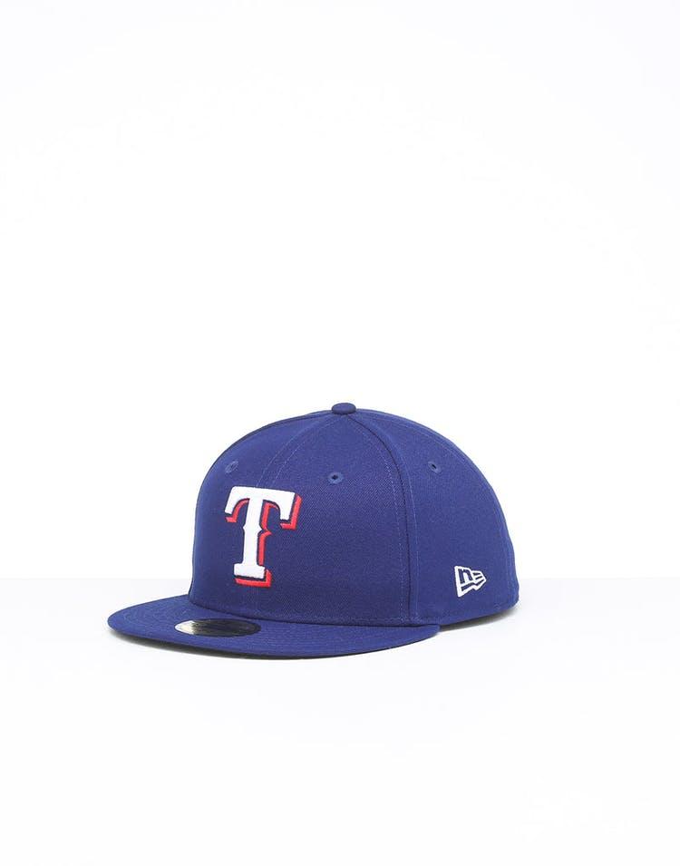 New Era Texas Rangers 59FIFTY Fitted Navy/OTC