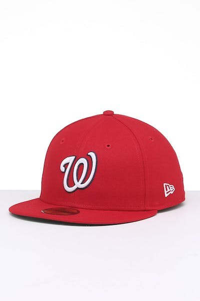 New Era Washington Nationals 9FIFTY Fitted Red/OTC