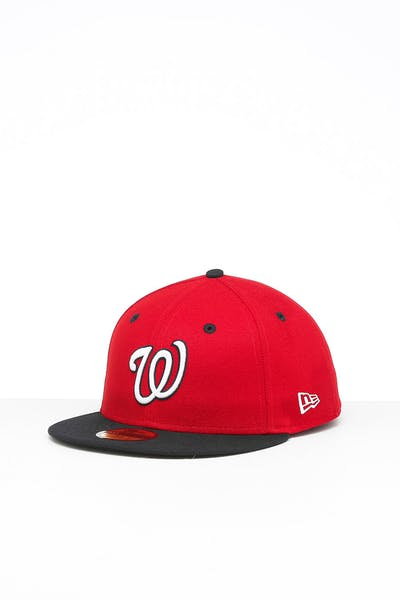 New Era Washington Nationals 59FIFTY ALT 2 Fitted Red/Black/OTC