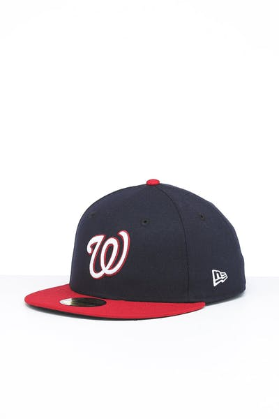 New Era Washington Nationals 59FIFTY ALT Fitted Navy/OTC