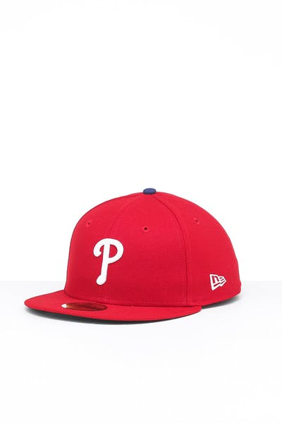 New Era Philadelphia Phillies 59FIFTY GM Fitted Red/OTC