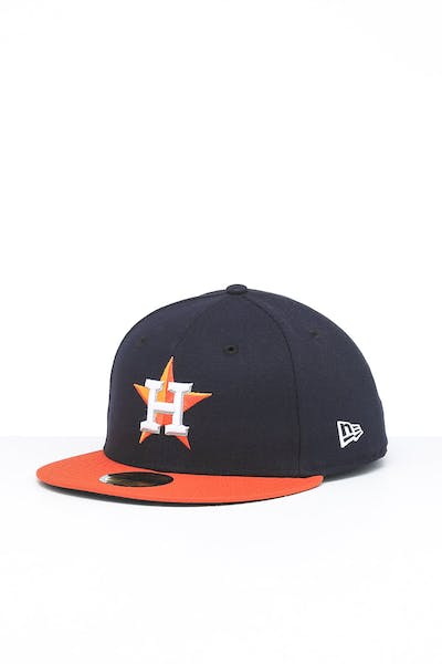 New Era Houston Astros 59FIFTY Road Fitted Navy/OTC