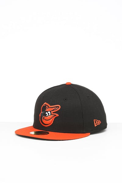 New Era Baltimore Orioles 59FIFTY Road Fitted Black/OTC