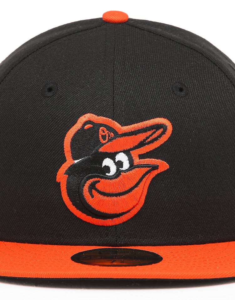 e68ad30ac New Era Baltimore Orioles 59FIFTY Road Fitted Black/OTC