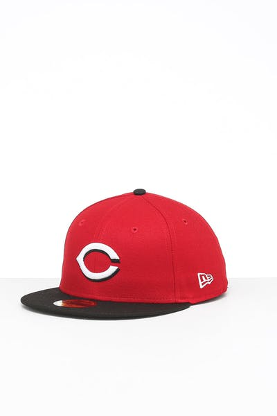 New Era Cincinnati Reds 59FIFTY ROAD Fitted Red/OTC