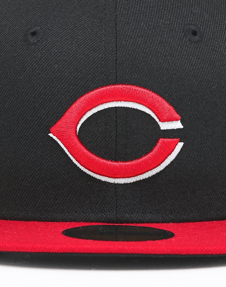 db787d953 New Era Cincinnati Reds 59FIFTY ALT Fitted Black/OTC