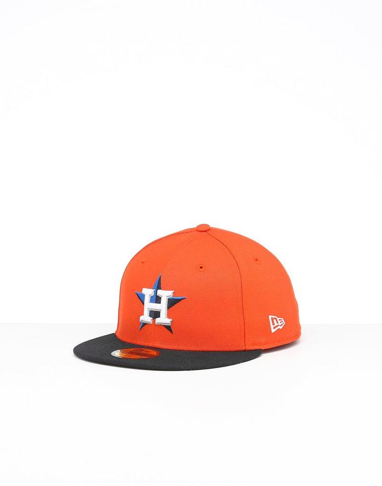 27b5a36d New Era Houston Astros 59FIFTY Alt Fitted Orange/OTC