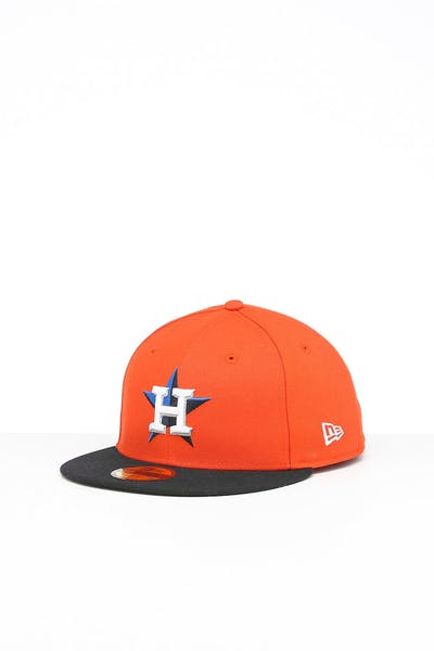 New Era Houston Astros 59FIFTY Alt Fitted Orange/OTC