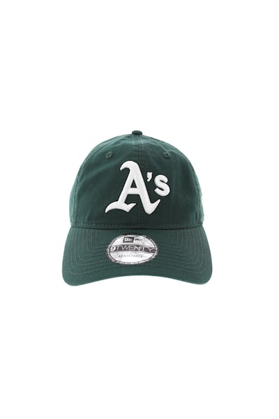 New Era Athletics 920 Strapback Dark Green