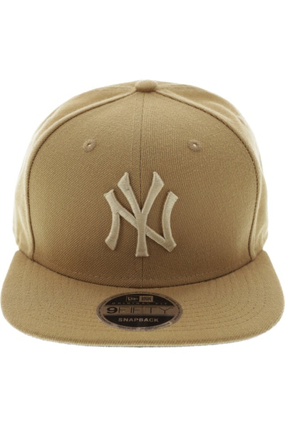 New Era Yankees Original Fit Snapback Wheat