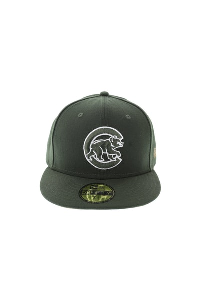New Era 59Fifty Cubs Fitted Olive/Tan